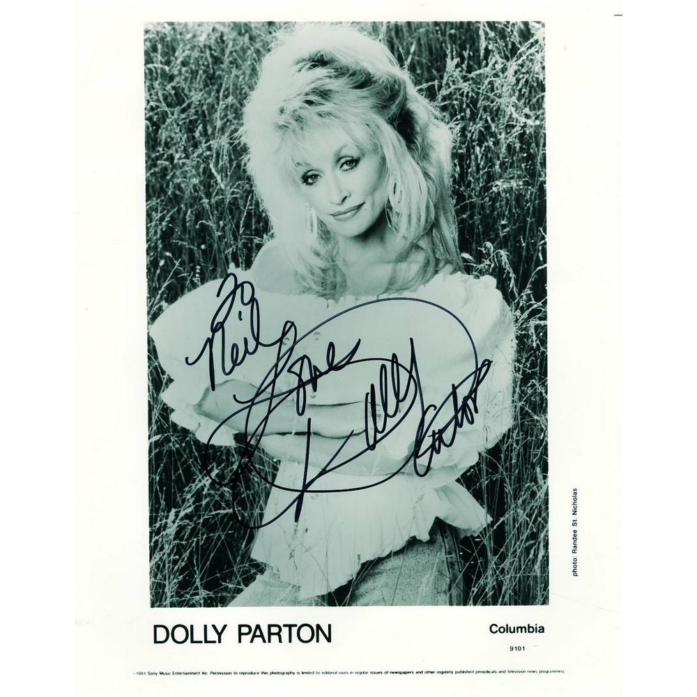 DOLLY PARTON AUTOGRAPHED SIGNED /& FRAMED PP POSTER PHOTO 1