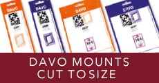 Davo Mounts Cut to Size