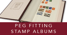 Peg Fitting Stamp Albums