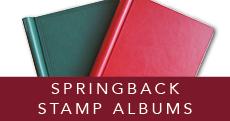 Springback Stamp Albums