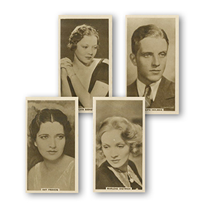 Cinema Stars - Set 4 (32) Abdulla 1933
