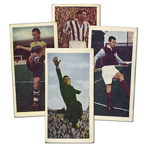 Famous Footballers - Series 2 (48) Chix Confectionary Co 1956