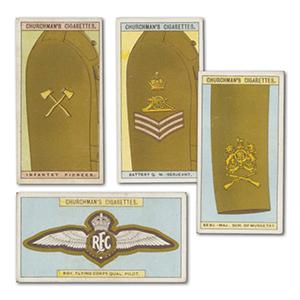 Army Badges of Rank (25) Churchman 1916