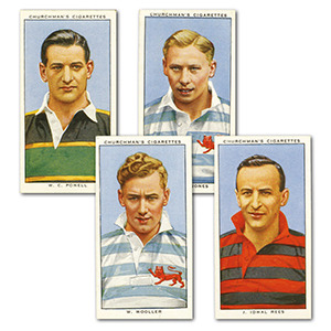 Rugby Internationals (50) Churchman 1935