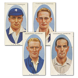 Cricketers (50) Churchman 1936