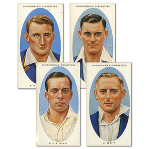 Cricketers (44/50) Churchman 1936