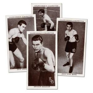 Boxing Personalities (50) Churchman 1938