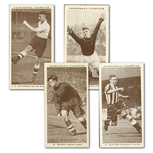 Association Footballers (50) Churchman 1938