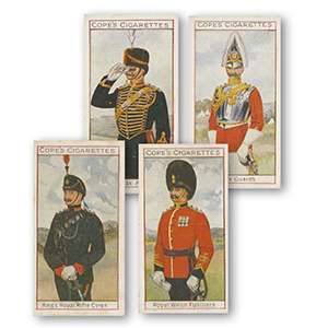 Uniformer A F Fremragende Britiske Regimenter (25) Cope Bros (Overseas) 1908