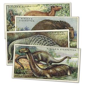 Prehistoric Animals (25) Edwards, Ringer & Bigg 1924