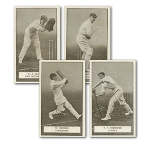 Famous Cricketers (100) Gallaher 1926