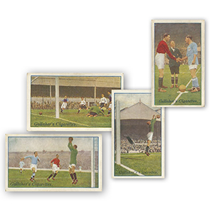 Footballers in Action (50) Gallaher 1928