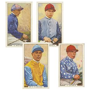 Famous Jockeys (48) Gallaher 1936