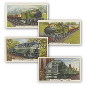 Trains of the World (48) Gallaher 1937