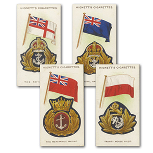 Ships, Flags & Cap Badges (25) Hignett 1926