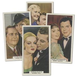 Screen Lovers (48) International Tobacco Co. Ltd 1940