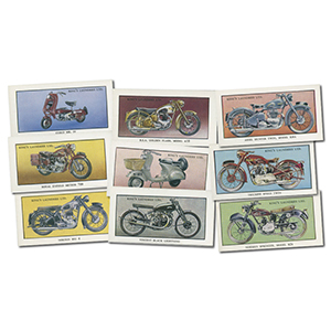 King's Laundries cards - Motorcycles
