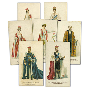 Coronation Robes (12) Lambert & Butler 1902