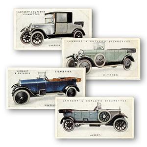 Motor Cars - A Second Series of 25 (25) Lambert & Butler 1923