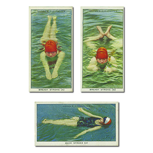 Swimming, Diving and Lifesaving (50) Ogdens 1931