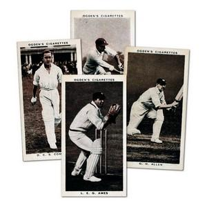 Prominent Cricketers of 1938 (50) Ogdens 1938