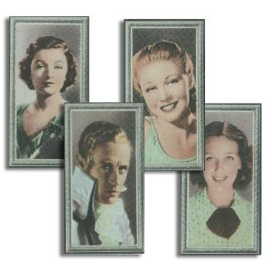 Stars of the Screen - A Series of 48 Coloured Photographs (48) Godfrey Phillips 1936