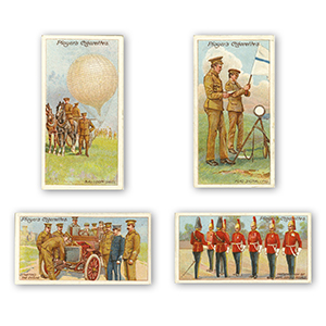 Army Life (25) Player's 1910