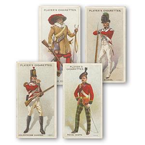 Regimental Uniforms - Second Series 51 - 100 (50) Player's 1914