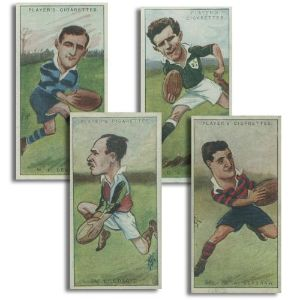 Footballers, Caricatures by 'RIP' (50) Player's 1926