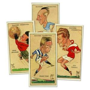 Football Caricatures by 'Mac' (50) Player's 1927