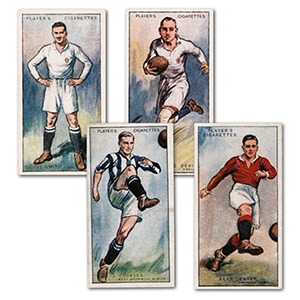 Footballers, 1928 (50) Player's 1928