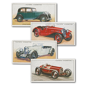 Motor Cars (50) Player's 1936