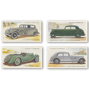 Motor Cars - 2nd Series (50) Player's 1937