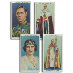 Coronation Series - Ceremonial Dress (50) Players 1937