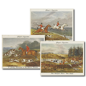 Old Hunting Prints (25) Player's 1938