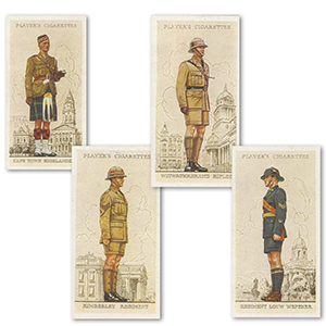 Military Uniforms of the British Empire Overseas (50) Player's 1938