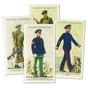 Uniforms of the Territorial Army (50) Player's 1939