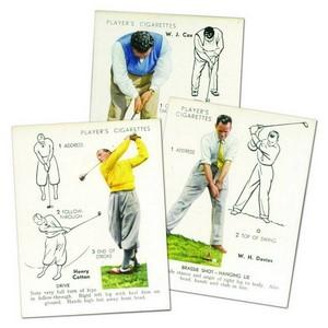 Golf (Large - 25) Player's 1939