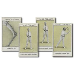 Tennis Strokes (25) Sarony 1923
