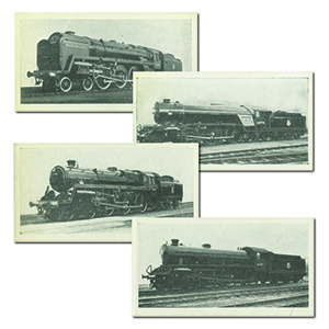 Railway Engines (50) Sonny Boy Cigarettes 1960