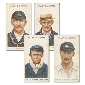 Cricketers (50) Wills 1908