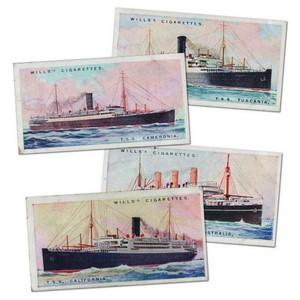 Merchant Ships of the World (50) Wills 1924