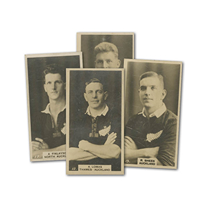 New Zealand Footballers (50) Wills 1927