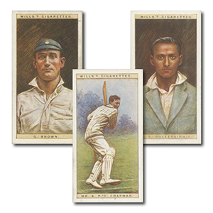 Cricketers, 1928 (50) Wills's 1928