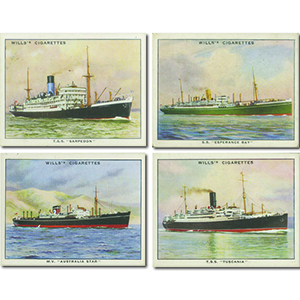 Famous British Liners - 2nd Series (50) Wills 1935