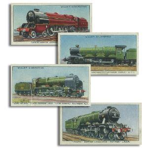 Railway Engines (50) Wills 1936