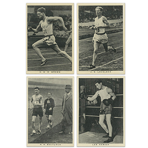British Sporting Personalities (48) Wills 1937