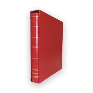 Evenleaf Binder & Slipcase - Red