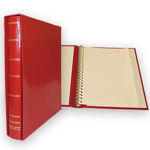 Evenleaf Standard 22-Ring Album - Red (50 Leaves)