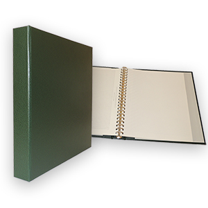 Mult-O-Ring Unfaced Album - Green (40 Leaves)